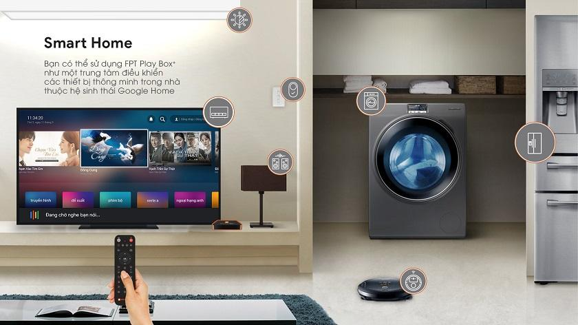 smart home với fpt play box