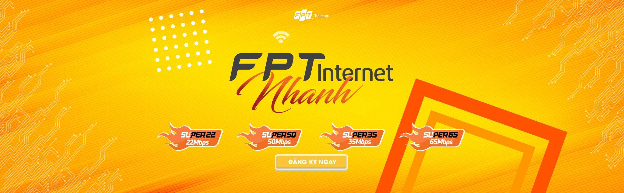 internet fpt tốc độ cao