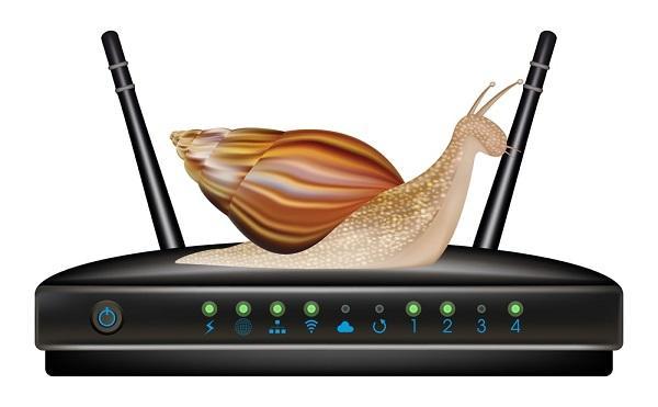 mạng fpt chậm do suy hao modem
