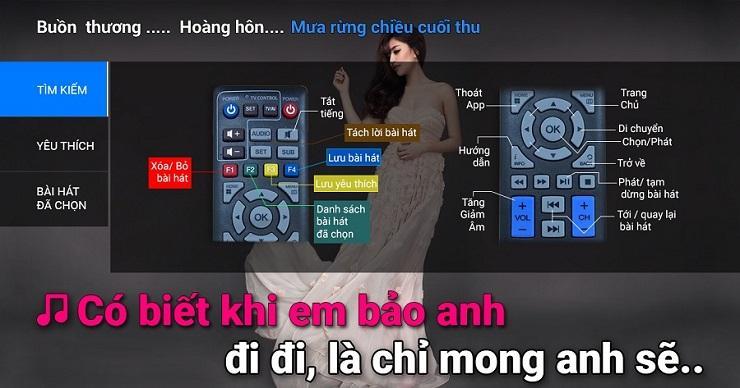 hát karaoke ngay trên truyền hình fpt