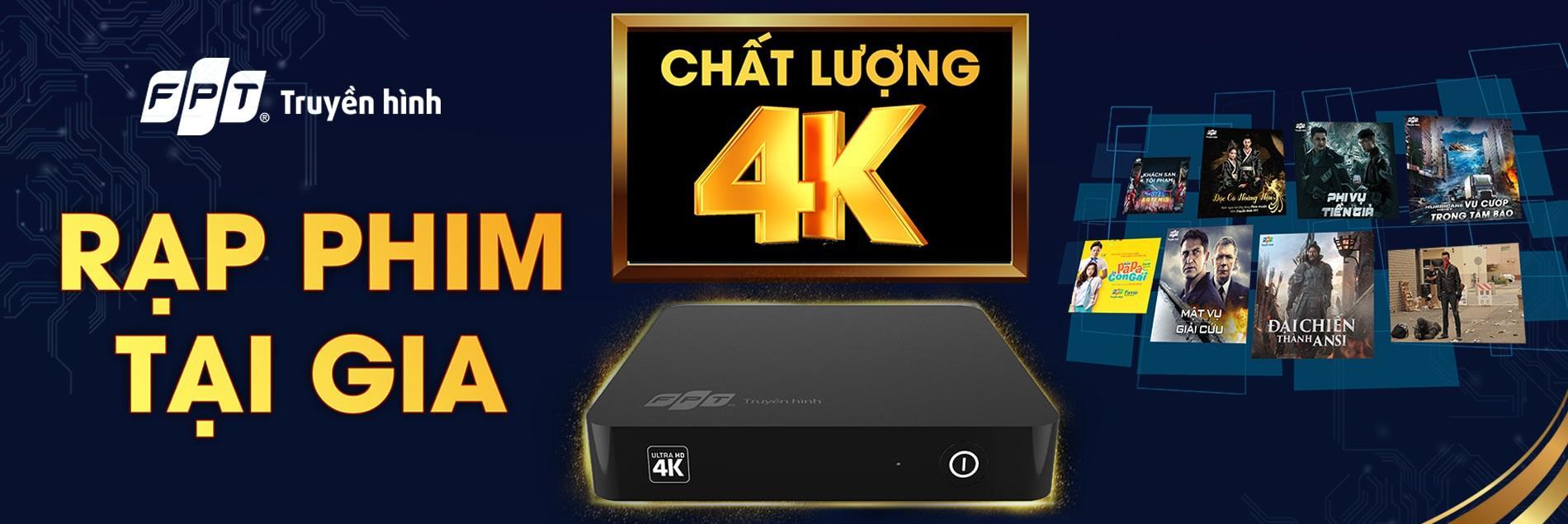 truyền hình 4k fpt