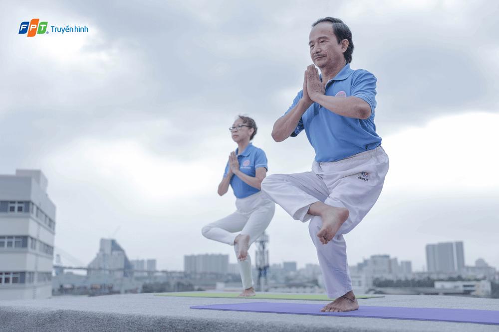 truyền hình fpt ra mắt chương trình tập thể dục cho người lớn tuổi