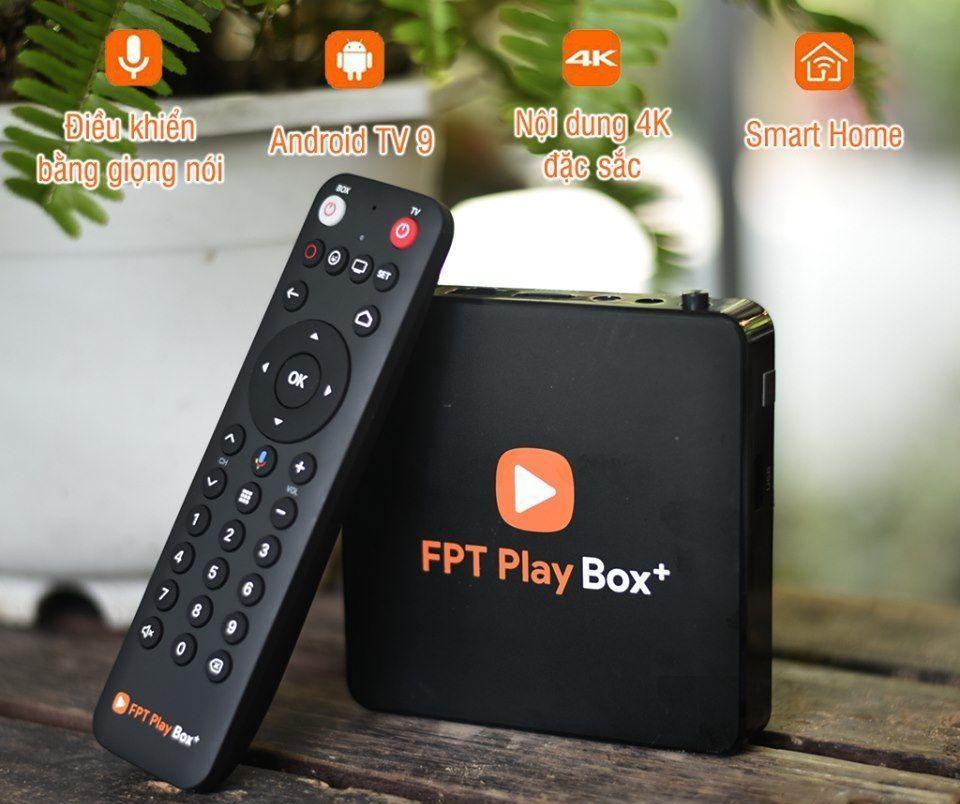 FPT play box phiên bản tiêu chuẩn 2021