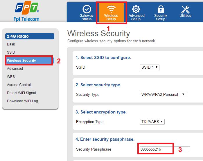 quên mật khẩu wifi trên điện thoại