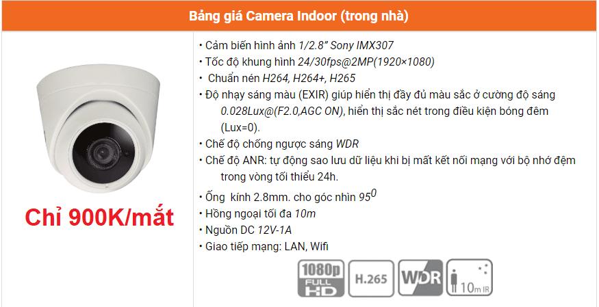 giá camera fpt trong nhà